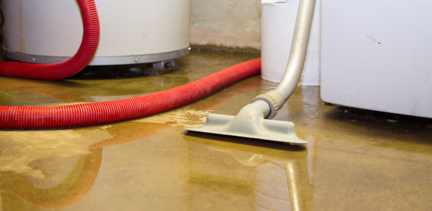 Flooded basement Emergency Cleaning - Level Seven Facilities Services